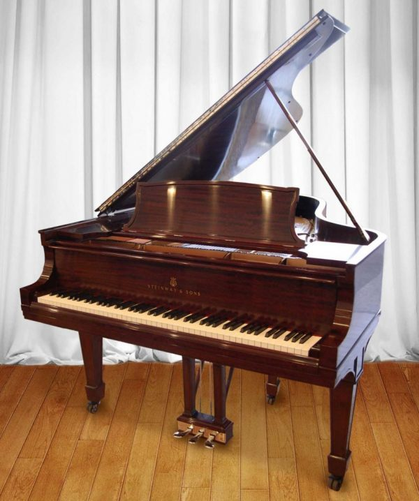 Steinway Piano, Fully Rebuilt Model O, 1908