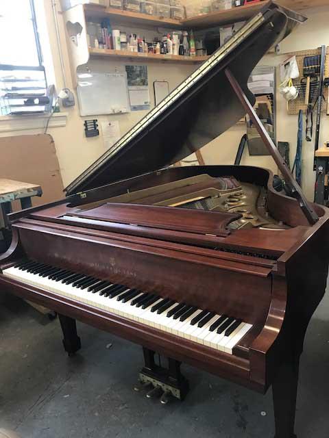 Steinway Piano, Model L, 1975