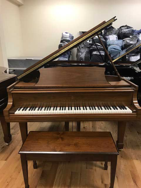 Steinway Piano, Model M, 1975