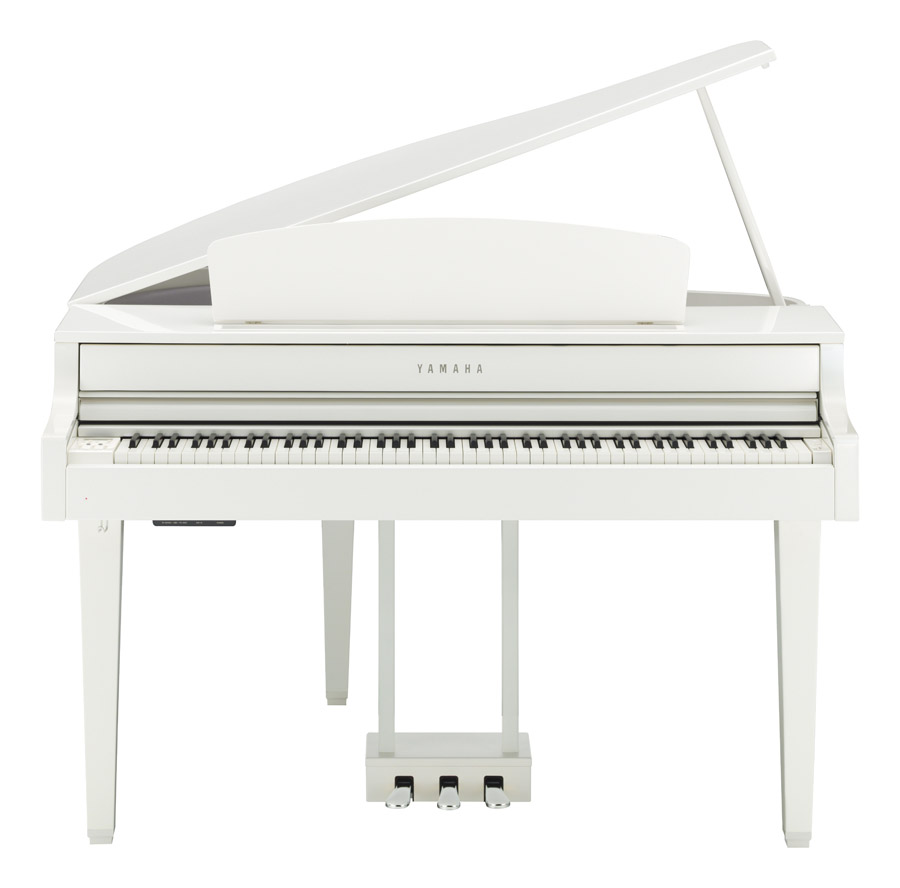 Yamaha CLP665 Grand Piano Polished White