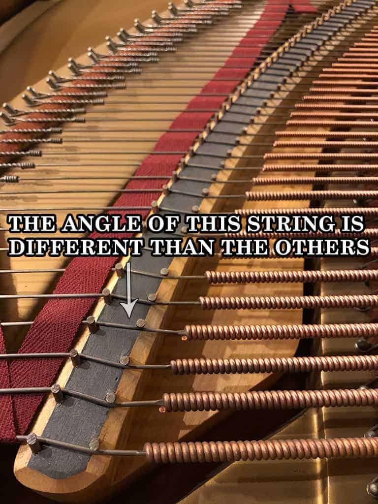 Piano Bridge Pins