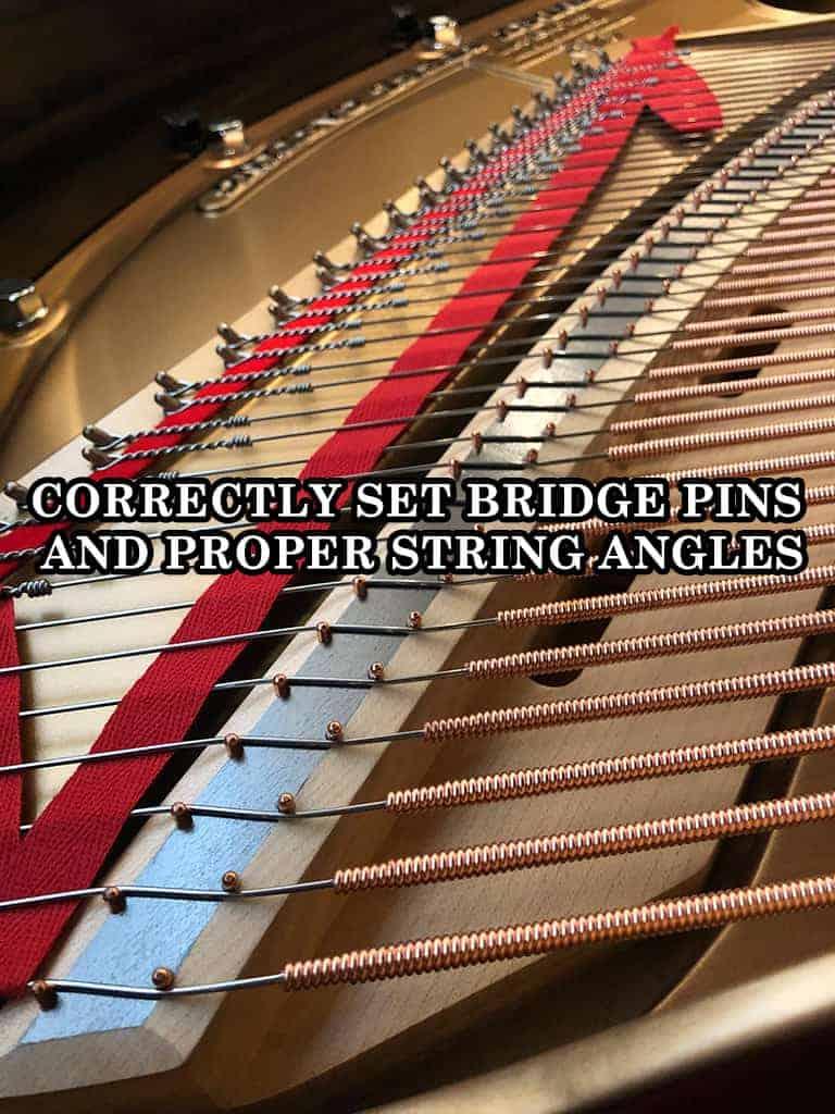 Piano Bridge Pins Great